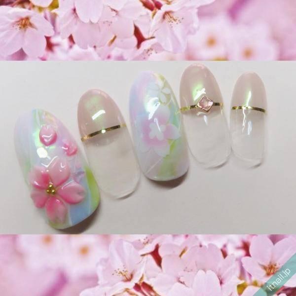 ぷっくりとした桜が可愛い♡