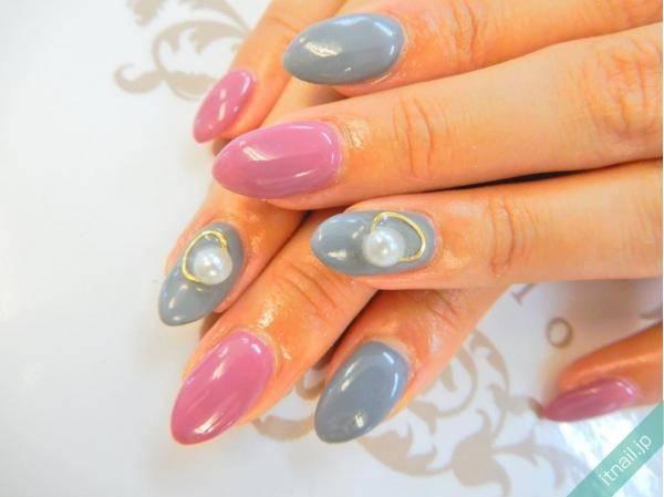 真珠の指輪風