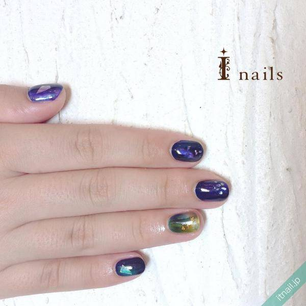 I nails (アイネイルズ)が投稿したネイルデザイン [photoid:I0027973] via Itnail Design (571892)