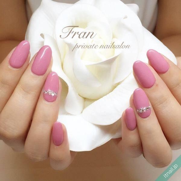 ピンクはワンカラーでも可愛い♡