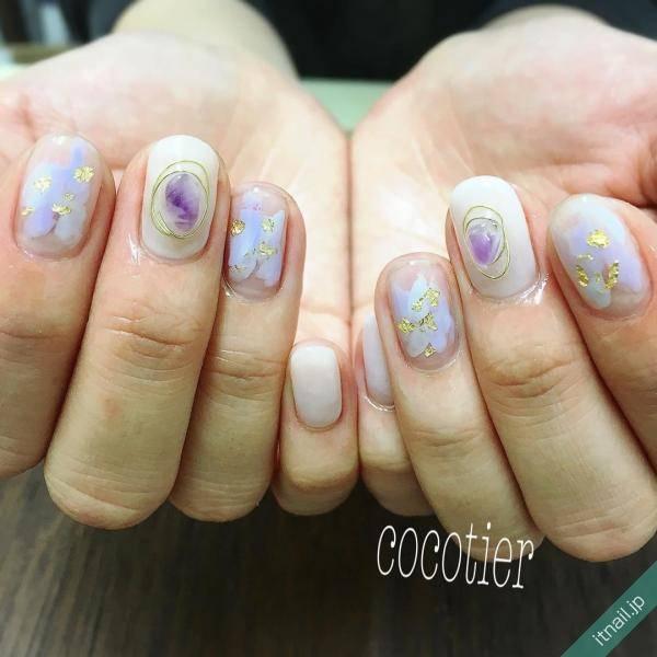 cocotier (愛知県刈谷市)が投稿したネイルデザイン [photoid:I0039898] via Itnail Design (573806)
