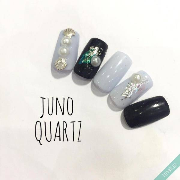 JunoQuartz×graceが投稿したネイルデザイン [photoid:I0032391] via Itnail Design (577057)