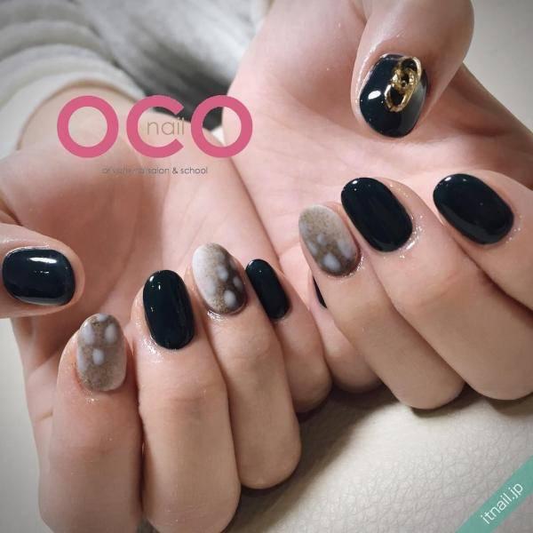ブラック×バンビネイル