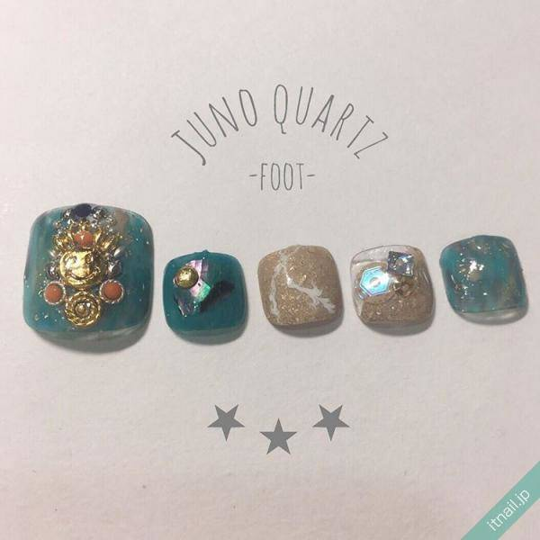 JunoQuartz×graceが投稿したネイルデザイン [photoid:I0030006] via Itnail Design (582311)