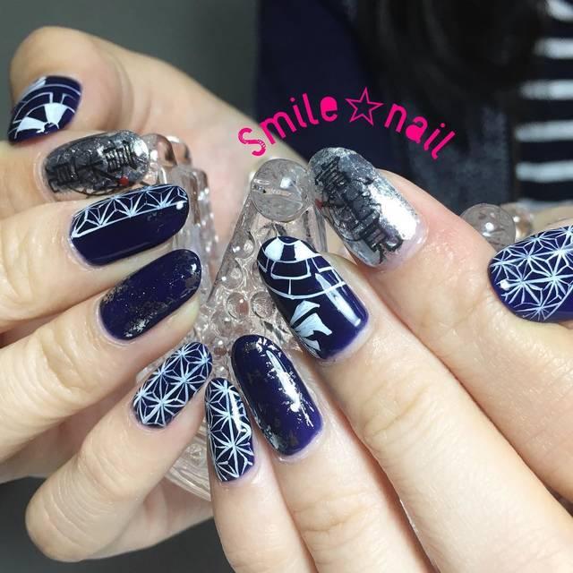 "Smile☆nail😊yukari on Instagram: ""大田原定額ネイルサロン Smile☆nailのyukariです(*^^*) 地元のお祭りに参加されるお客様( ゚∀゚ ) 気合入れて#お祭りネイル ✨ とても楽しみにされているお祭りの様で、私も気合入れてデザイン作らせて頂きました❤️…"" (589125)"
