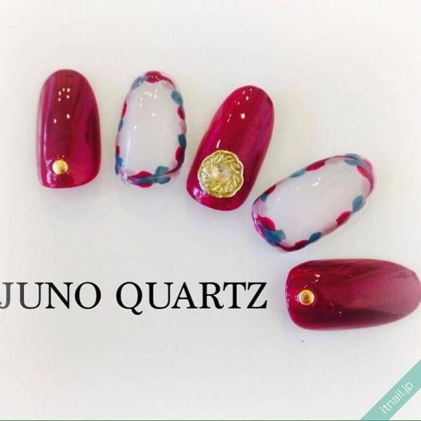 JunoQuartz×missionが投稿したネイルデザイン [photoid:I0040996] via Itnail Design (591625)
