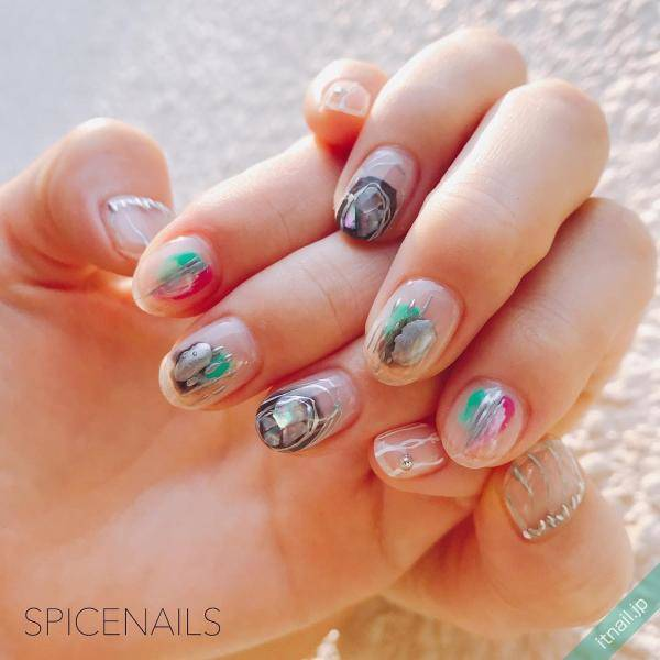 SPICENAILS (吉祥寺)が投稿したネイルデザイン [photoid:I0056003] via Itnail Design (594459)