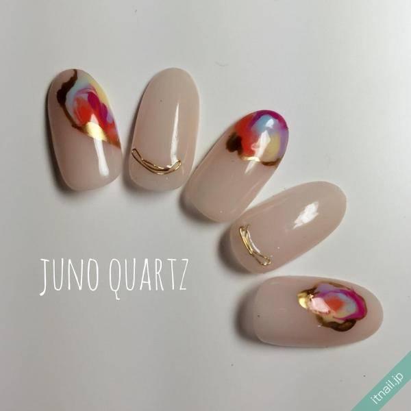 JunoQuartz×missionが投稿したネイルデザイン [photoid:I0040932] via Itnail Design (594463)