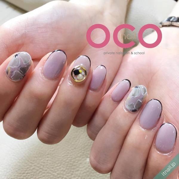 OCO nailが投稿したネイルデザイン [photoid:I0011037] via Itnail Design (595674)