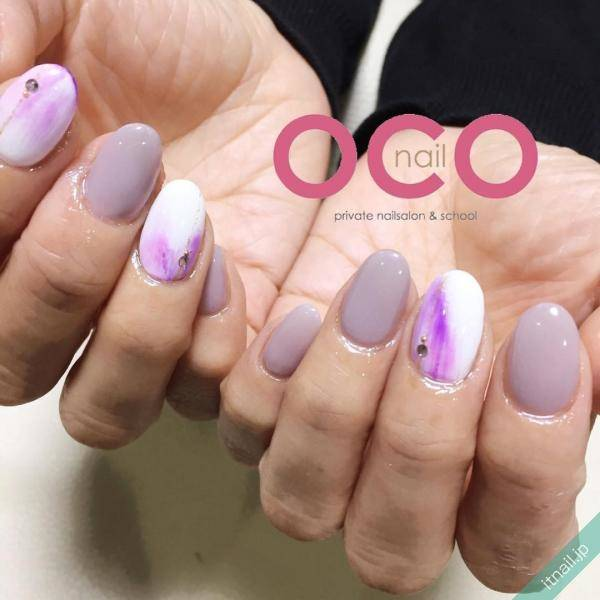 OCO nailが投稿したネイルデザイン [photoid:I0010835] via Itnail Design (595675)