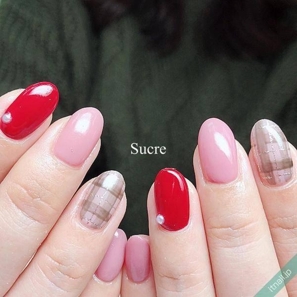 Sucre (福岡)が投稿したネイルデザイン [photoid:I0062632] via Itnail Design (595684)