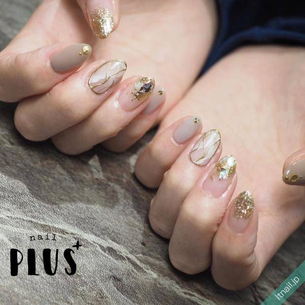nail PLUS+が投稿したネイルデザイン [photoid:I0063915] via Itnail Design (595774)