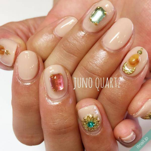 JunoQuartz×graceが投稿したネイルデザイン [photoid:I0032425] via Itnail Design (595832)