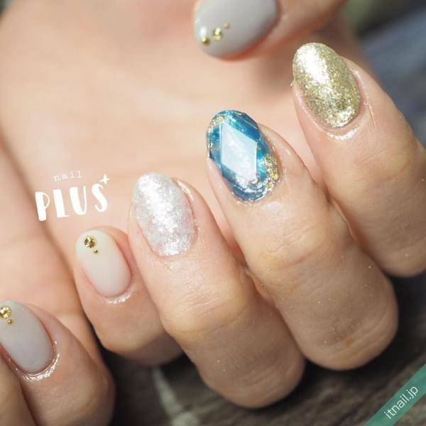nail PLUS+が投稿したネイルデザイン [photoid:I0063902] via Itnail Design (595983)