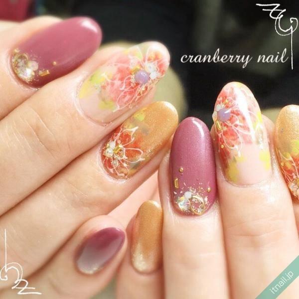 cranberry nail 鯨岡百合香