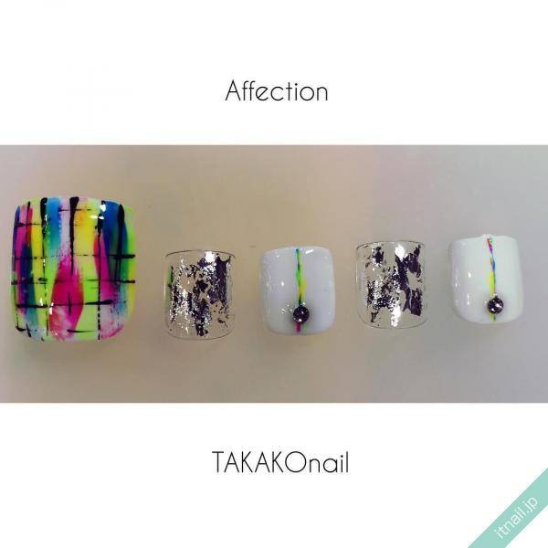 affection TAKAKOnailが投稿したネイルデザイン [photoid:I0066832] via Itnail Design (599491)
