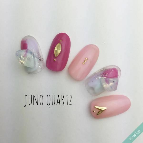 JunoQuartz×graceが投稿したネイルデザイン [photoid:I0032550] via Itnail Design (604232)