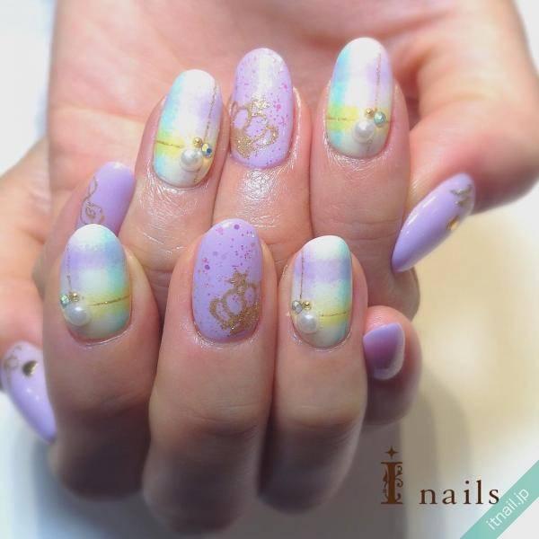 I nails (アイネイルズ)が投稿したネイルデザイン [photoid:I0029429] via Itnail Design (611649)