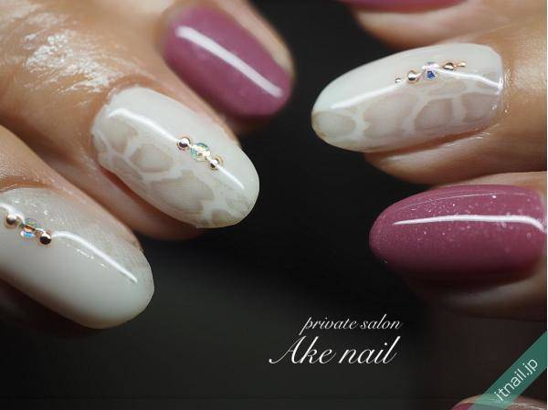 Private salon Ake nailが投稿したネイルデザイン [photoid:I0074771] via Itnail Design (613886)