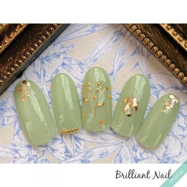 Brilliant Nail (大阪)が投稿したネイルデザイン [photoid:I0081562] via Itnail Design (619440)