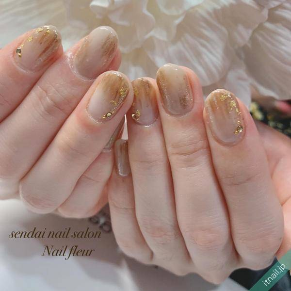 Nail fleur (宮城・仙台)が投稿したネイルデザイン [photoid:I0082176] via Itnail Design (619498)