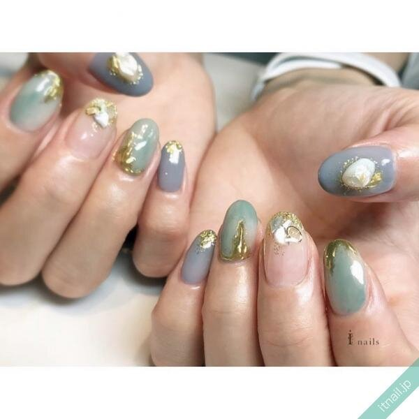 I nailsが投稿したネイルデザイン [photoid:I0087157] via Itnail Design (627958)