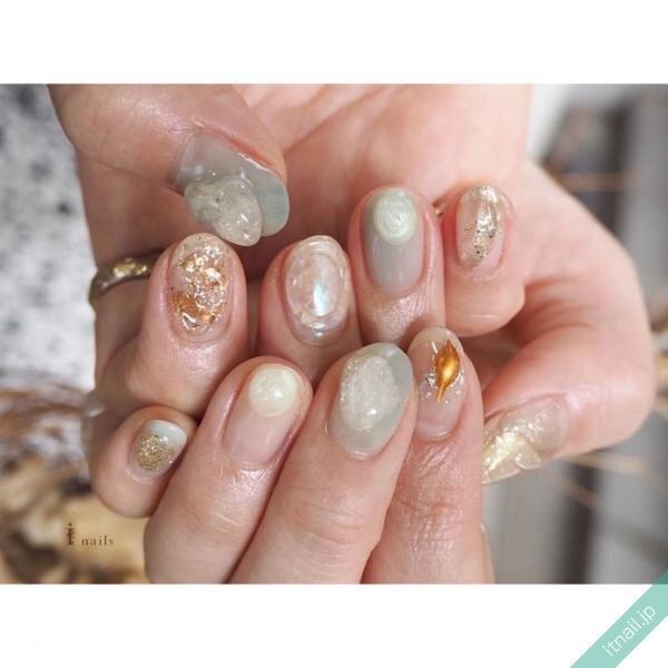 I nailsが投稿したネイルデザイン [photoid:I0087137] via Itnail Design (627980)