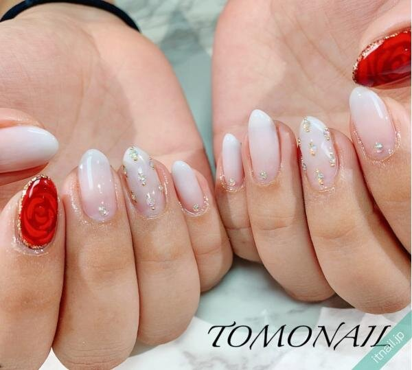 TOMONAILが投稿したネイルデザイン [photoid:I0089941] via Itnail Design (631815)