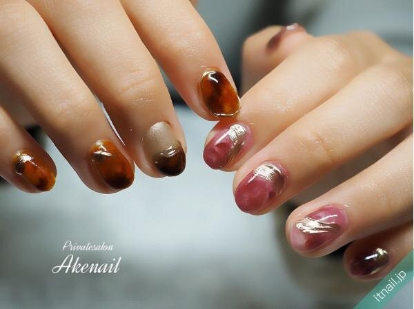 Private salon Ake nailが投稿したネイルデザイン [photoid:I0090632] via Itnail Design (633823)