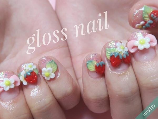gloss nail