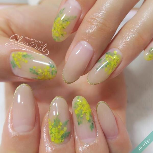 gloss nailが投稿したネイルデザイン [photoid:I0079936] via Itnail Design (638415)