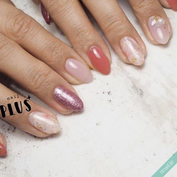 nail PLUS+が投稿したネイルデザイン [photoid:I0068092] via Itnail Design (638509)