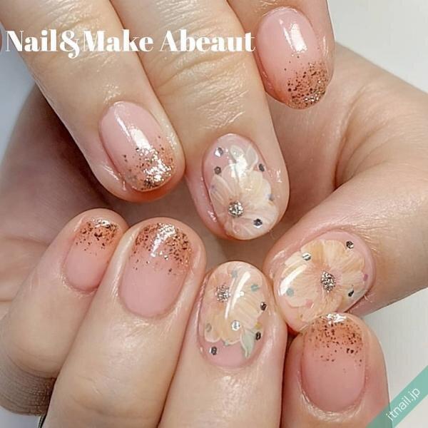 Nail&Make Abeautが投稿したネイルデザイン [photoid:I0090807] via Itnail Design (638819)