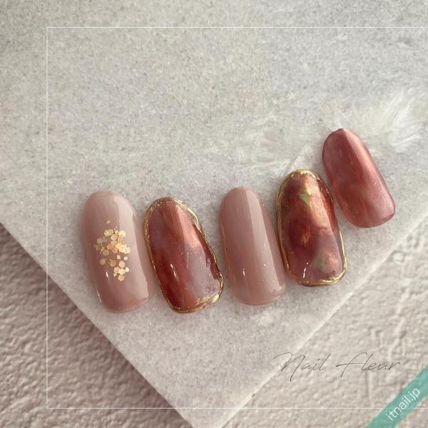 Nail fleurが投稿したネイルデザイン [photoid:I0089993] via Itnail Design (638821)