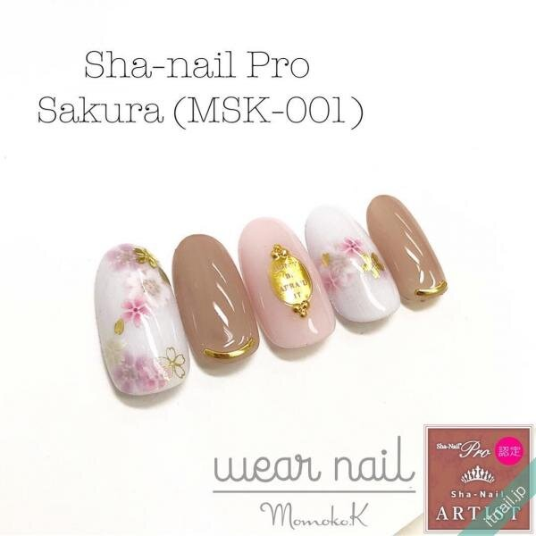 wear_nailが投稿したネイルデザイン [photoid:I0063603] via Itnail Design (639644)