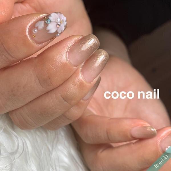 coconailが投稿したネイルデザイン [photoid:I0080755] via Itnail Design (639645)