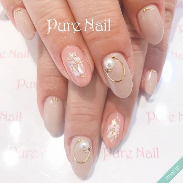 Pure Nailが投稿したネイルデザイン [photoid:I0085271] via Itnail Design (639764)