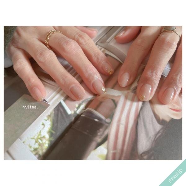 a little salon niiinaが投稿したネイルデザイン [photoid:I0094313] via Itnail Design (639829)