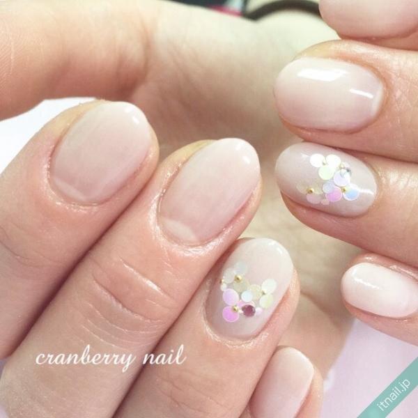 cranberry nailが投稿したネイルデザイン [photoid:I0007902] via Itnail Design (640273)
