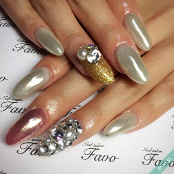 Nailsalon Favoが投稿したネイルデザイン [photoid:I0018479] via Itnail Design (640316)