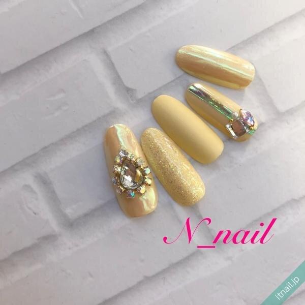 N_nailが投稿したネイルデザイン [photoid:I0094685] via Itnail Design (640365)