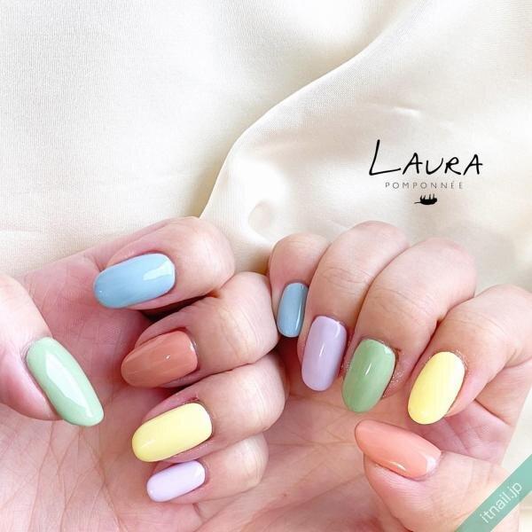 LAURA POMPONNEEが投稿したネイルデザイン [photoid:I0090168] via Itnail Design (640506)