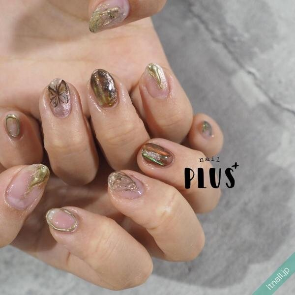 nail PLUS+が投稿したネイルデザイン [photoid:I0072524] via Itnail Design (640981)