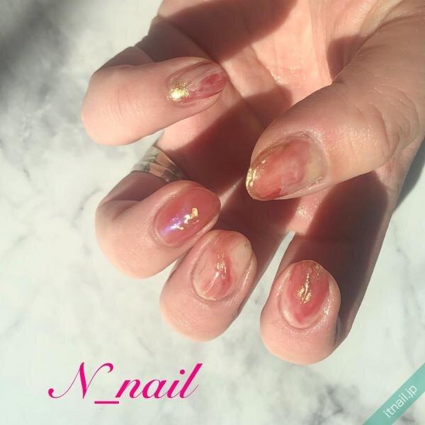 N_nailが投稿したネイルデザイン [photoid:I0094768] via Itnail Design (641002)