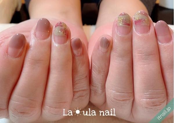 La☀ula nailが投稿したネイルデザイン [photoid:I0094610] via Itnail Design (641010)