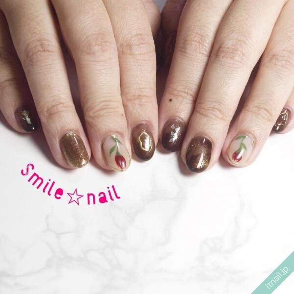 Smile☆nailが投稿したネイルデザイン [photoid:I0091762] via Itnail Design (641267)