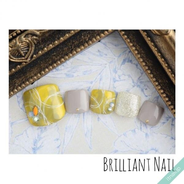 Brilliant Nailが投稿したネイルデザイン [photoid:I0089181] via Itnail Design (641292)