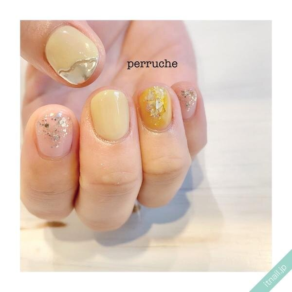 perrucheが投稿したネイルデザイン [photoid:I0083652] via Itnail Design (641297)