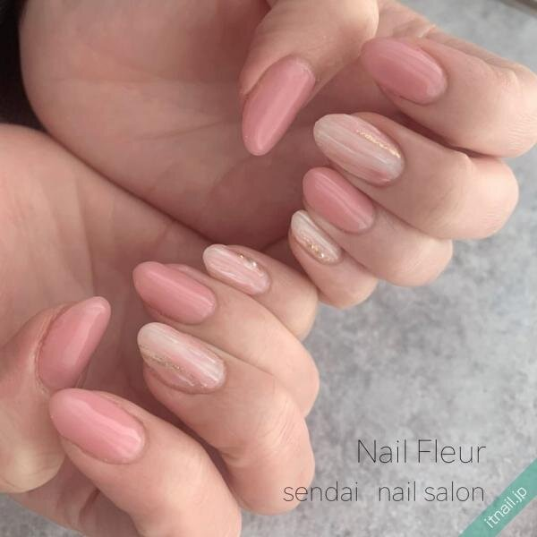 Nail fleurが投稿したネイルデザイン [photoid:I0095151] via Itnail Design (641560)
