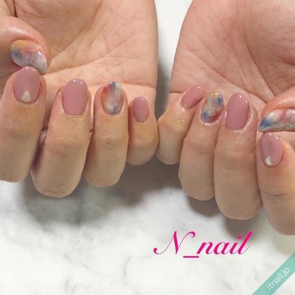 N_nailが投稿したネイルデザイン [photoid:I0094761] via Itnail Design (641567)